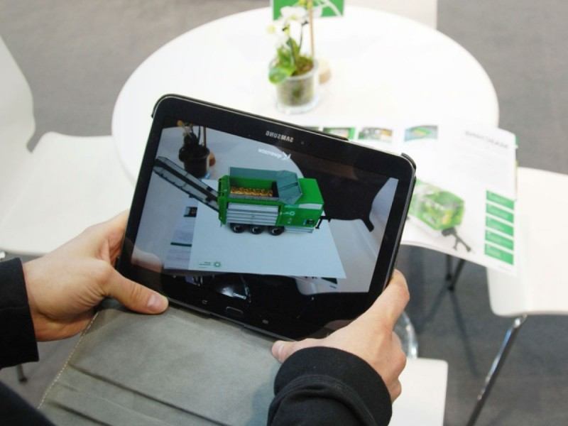 Augmented Reality - Komptech