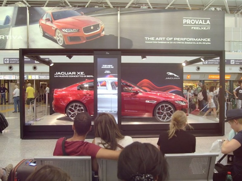 XE Airport activation - JAGUAR